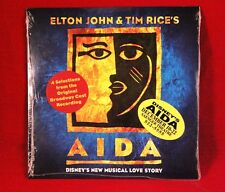 "Music CD Promo  ""Aida""  (1998, Disney, 4 Songs) Elton John & Tim Rice"