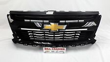 23321740 2015 2016 Chevrolet Colorado OEM Grille Painted Black NEW - GBA - 8555