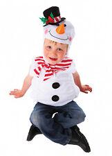 Tout-petit Frozen Ice Bonhomme De Neige Doux Tabard Costume Noël Petit 3 4 5