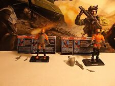 GI JOE 50TH HISS DRIVER AND GUNNER 100% COMPLETE