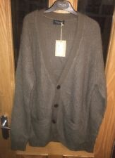 Paul Smith Cardigan Jumper Medium Paul Smith Brown Jumper BNWT