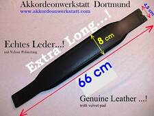 66 x  8 cm ( EXTRA Long ) Akkordeon Bassgurt, Riemen, accordion bass strap, belt
