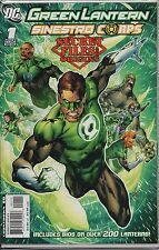 GREEN LANTERN. Sinestro Corps #1 Secret Origins. Over 200 Lanterns (C1.538)