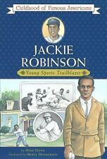 Jackie Robinson: Young Sports Trailblazer (Childhood of Famous America-ExLibrary