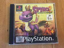 Spyro the Dragon 2 Gateway to Glimmer - RARE Black Label GREAT CONDITION