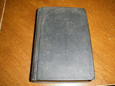 THE BOOK OF COMMON PRAYER - 1945 hard cover vintage book