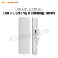 Twin Pack 5GHz Outdoor Wireless Access Point WiFi Bridge AP Router CPE with POE