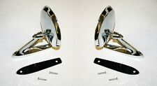 NEW 1964-1966 Mustang Chrome Outside Mirror Right & Left Side Pair Mirrors