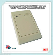 13.56Mhz Mifare1 S50 Waterproof RFID WG26/34 dual Led Access Control Card READER