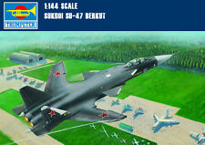 1/144 Scale Russia Sukhoi SU-47 Berkut Fighter Aircraft Plastic Assembly Models