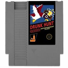 Drunk Hunt Concealable Entertainment Flask [Game Memorabilia, NES Retro] NEW