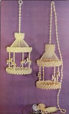 Hanging Carousel Pattern - Girls Nursery #SH2 Macrame School House Vol. 2 Book
