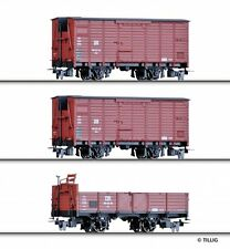 HS Tillig 15971 Güterwagenset der DR in HOm