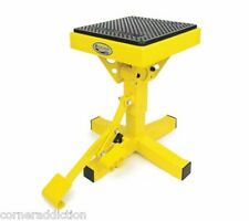 Motorsport Products P-12 Adjustable Lift Stand YELLOW Dirtbike Stand 92-4027