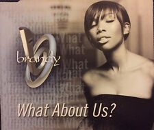 Brandy - What About Us? (CD 2002) Enhanced CD With Video