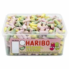 HARIBO RHUBARB & CUSTARD - FRUIT FLAVOUR SWEETS 600 PIECES