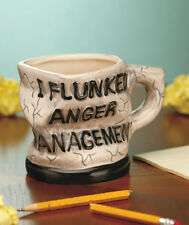 I FLUNKED ANGER MANAGEMENT Mug Collectible Novelty Coffee Cup Gag Gift Coworker