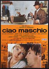 CINEMA-soggettone CIAO MASCHIO depardieu, mastroianni, coco, FERRERI