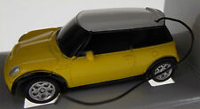 Mini Cooper S Radio Remote Control Micro Zoomers 1:58 Scale Car Yellow