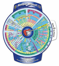 THE GUITAR PIANO WHEEL 2 SIDED MUSIC THEORY TOOL NEW