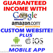 RARE Profitable Website & Android/iOS App -At Least $190/Month Profit Guaranteed