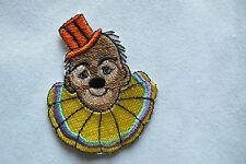 #2765 Circus Clown Embroidery Iron on Applique Patch
