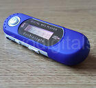 BLUE EVO 8GB MP3 WMA USB MUSIC PLAYER WITH LCD SCREEN FM RADIO VOICE RECORDER +