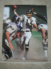 Dan Fouts San Diego Chargers Color Candid Coffee Table Book Photo