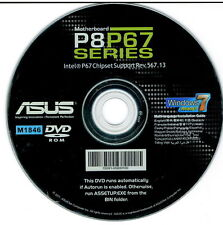 ASUS GENUINE MOTHERBOARD SUPPORT DISK P8P67 SERIES Rev 567.13 M1846