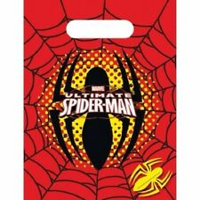 The Ultimate Spider-Man Party Bags , pack of 6