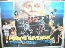 Cinema Poster: PORKY'S REVENGE 1985 (Quad) Dan Monahan Chuck Mitchell