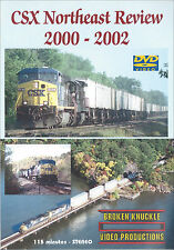 CSX Northeast Review 2000-2002 DVD Railroad Broken Knuckle NEW!
