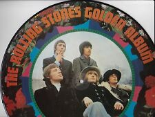 THE ROLLING STONES GOLDEN ALBUM PICTURE DISC STEREO LP IMPORTED FROM JAPAN