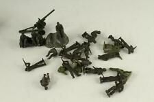 Vintage Plastic US Military Toy Box Lot WWII ARMY MEN Figures Combat