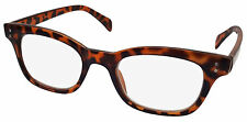 NEW NERDY READING GLASSES TORTOISESHELL ACADEMIC LOOK +2.0 RG5