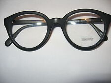 Vintage spectacle brown acetate frame Identity model005  50eye 20 bridge hand ma