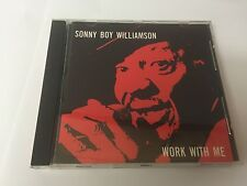Sonny Boy Williamson Work with Me  CD MINT  082333106123