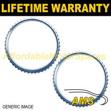 2x PER ALFA ROMEO 166 54 DENTI 97.75 mm ABS RELUCTOR RING DRIVESHAFT JOINT 4301
