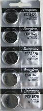 Energizer ECR1620 (CR1620) 3V Lithium Coin Batteries ( 1 pack of 5)
