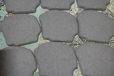 10 FLEXSTONE -STEPPING STONES FOR WALKWAYS- PATIO- VARIETY COLOR - RECYCLED TIRE