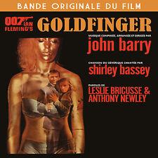 CD Goldfinger - James Bond 007 - Bande Originale du Film / BOF - OST