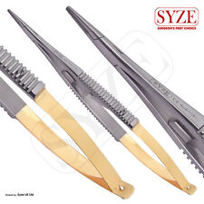 SYZE Castroviejo Needle Holder TC Str Surgical Dental Instruments Suture Tools