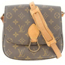 AUTHENTIC LOUIS VUITTON Monogram Saint Cloud MM M51243 Cross Body Shoulder Bag