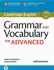 Cambridge English GRAMMAR AND VOCABULARY FOR ADVANCED CAE with Answers 2015 @NEW