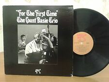 Count Basie Trio,For The First Time,Pablo 2310 712,1stPressing,VG+ Vinyl Jazz LP