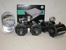 Kicker BLK DLS PKG Wakeboard Boat Tower Speakers, AMP, Kit Marine RZR UTV Can AM