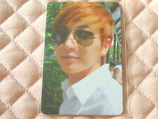(ver. Leeteuk) Super Junior 4th Album BONAMANA Photocard K-POP SM TYPE B