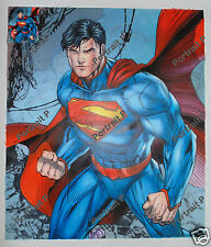 Comic Art Commission Oil Painting Hand-Painted Signed on Canvas Not a Print