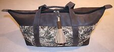 New Weekend/Tote Bag Hand-crafted in Kenya Leather/Carpet Original Design