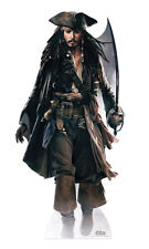 SC-507 Fluch der Karibik Captain Jack Sparrow Höhe 180cm Pappaufsteller Figur
